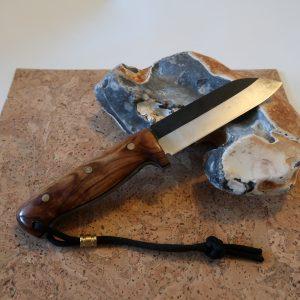 Waldläufer L Bushcraftmesser klassisch gemasert